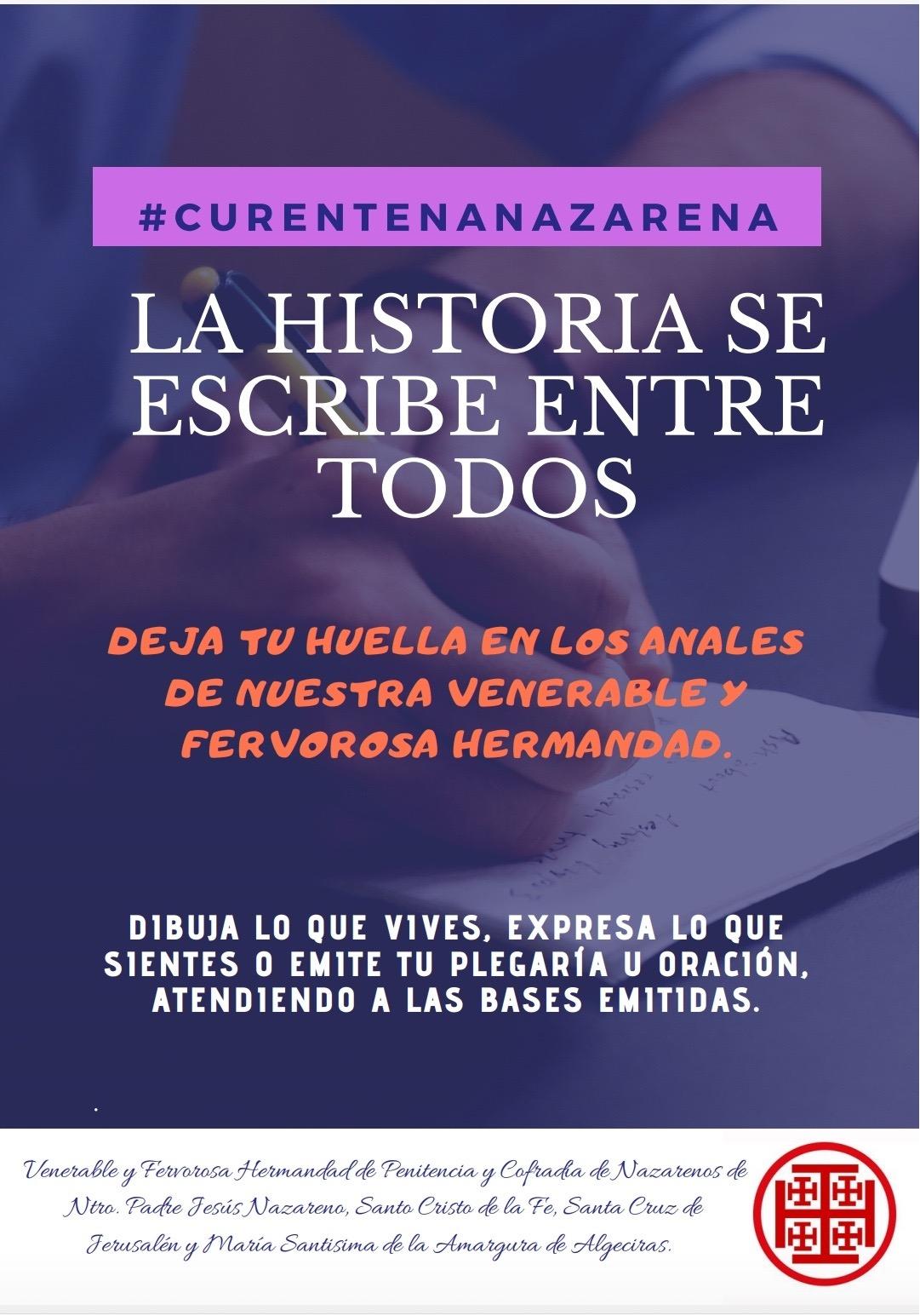 """La Cofradía """"hermana"""" del Nazareno convoca un concurso de relatos y dibujos para niños y mayores"""