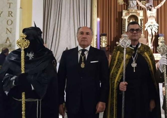 La Junta de Gobierno del Santo Entierro agradece al alcalde el reconocimiento a las cofradías por su aportación a los afectados por el COVID19