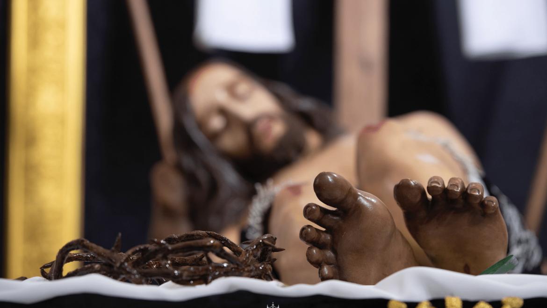 Concluyen los cultos al Cristo Yacente